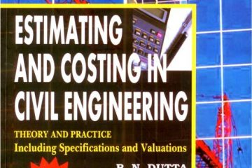 Estimating and Costing in Civil Engineering 24th Edition