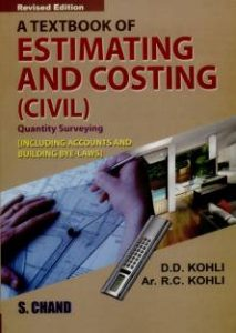 Estimation, Costing and Accounts 9th Edition