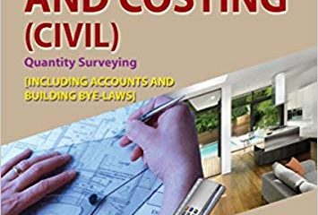 Estimation, Costing and Accounts 9th Edition PDF
