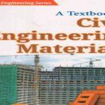 Civil Engineering Materials PDF Free Download
