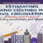 Estimating and Costing in Civil Engineering PDF Free Download