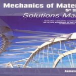 Mechanics of Materials Solution Manual PDF Free Download