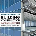 Fundamental of Building Construction Materials and Methods PDF by Edward Allen
