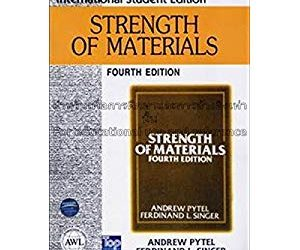 Strength of Materials, Harper & Row Publishers